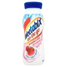 WEETABIX BREAKFAST DRINK STRAWBERRY PM£1