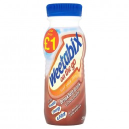 WEETABIX BREAKFAST DRINK CHOCOLATE PM£1