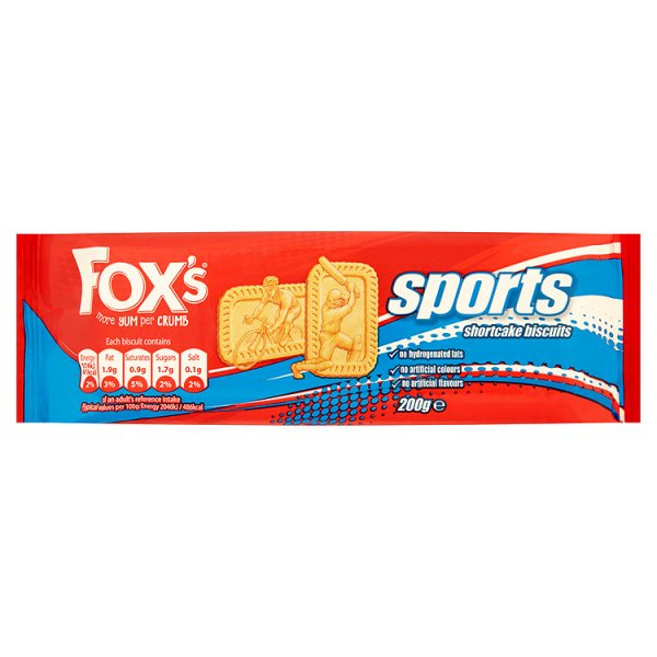 FOXS SPORTS BISCUITS