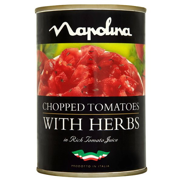 NAPOLINA CHOPPED TOMATOES & HERBS