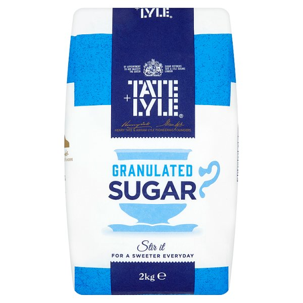 T & LYLE GRANULATED SUGAR