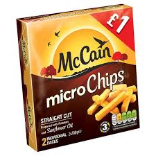 MCCAIN QUICK CHIPS STRAIGHT CUT PMï¾£1.00 GLUTEN FREE
