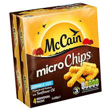 MCCAIN QUICK CHIPS CRINKLE CUT GLUTEN FREE