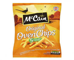 MCCAIN OVEN CHIPS 5% FAT STRAIGHT CUT GLUTEN FREE
