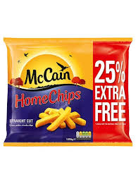 MCCAIN HOME CHIPS STRAIGHT CUT 25%EF