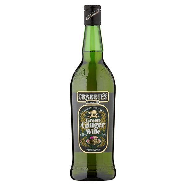 CRABBIES GREEN GINGER WINE