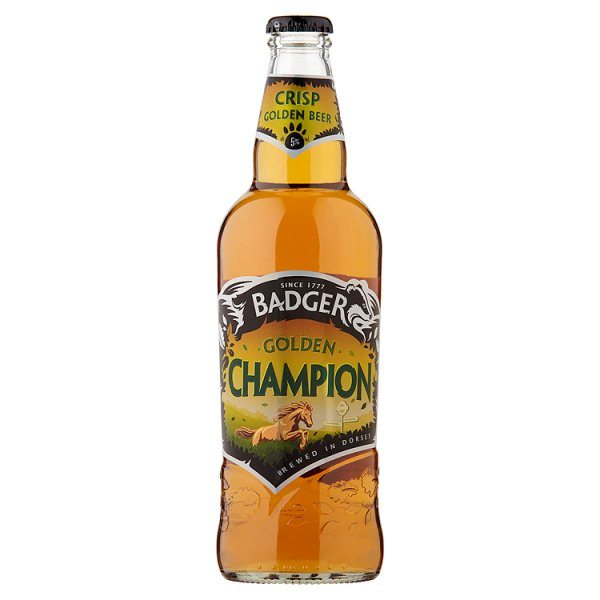 BADGER GOLDEN CHAMPION 5%