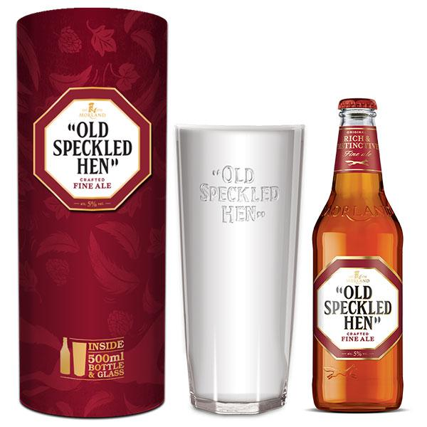 MORLAND OLD SPECKLED HEN GIFT TUBE