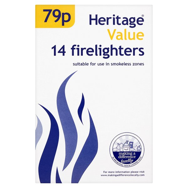 H/VALUE FIRELIGHTERS PM79P