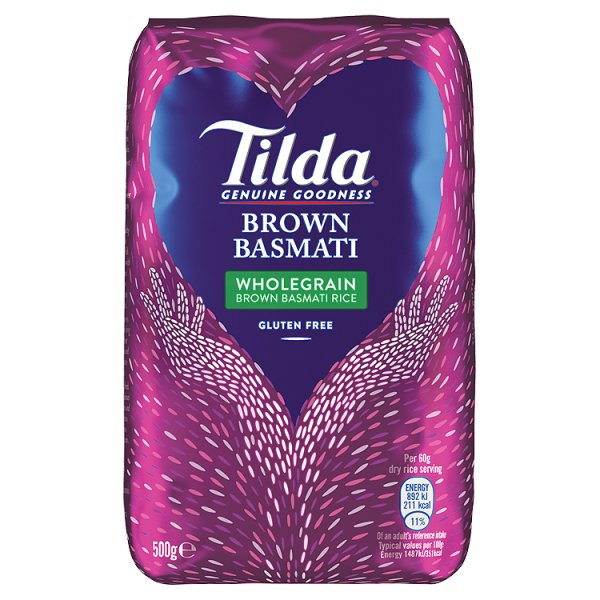 TILDA WHOLEGRAIN BASMATI RICE