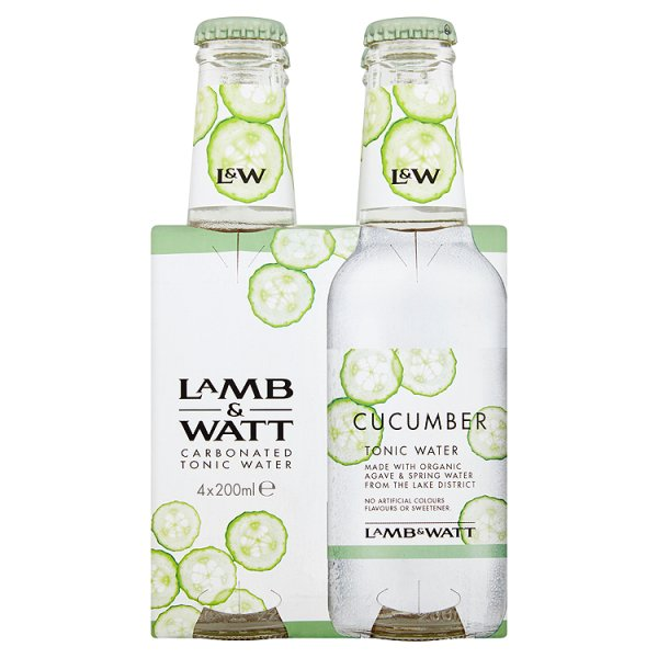 LAMB & WATT CUCUMBER TONIC 4PK