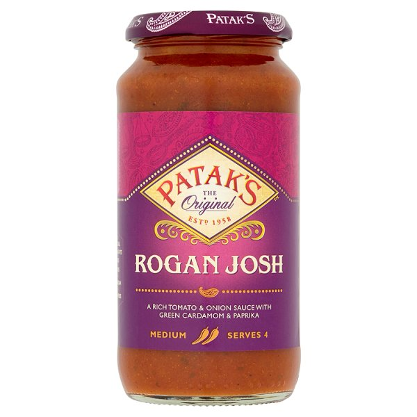 PATAKS ROGAN JOSH CURRY SAUCE