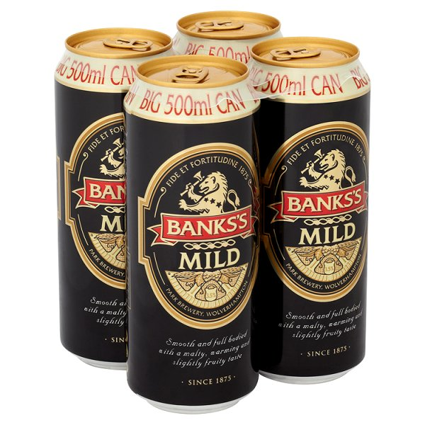 BANKS'S MILD 4PK CAN 3.5%