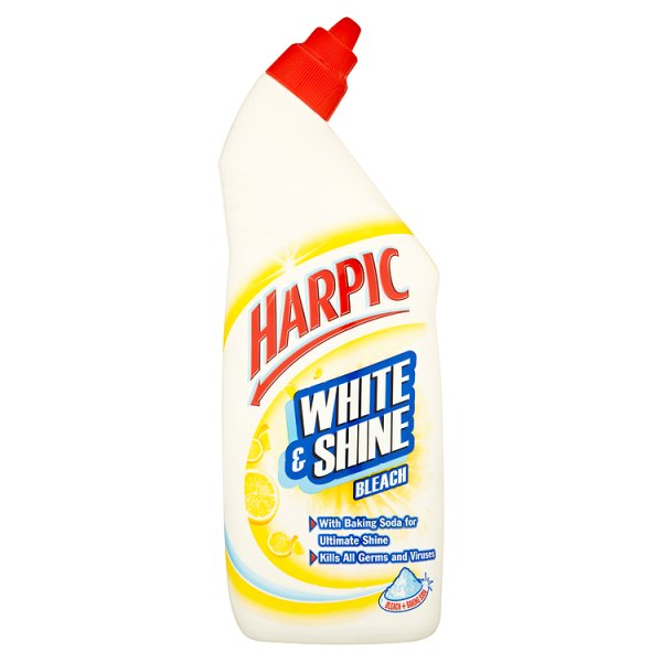 HARPIC WHITE & SHINE BLEACH