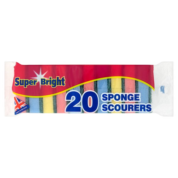 SUPERBRIGHT SPONGE SCOURER