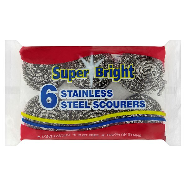 S/BRIGHT S/STEEL SCOURERS *