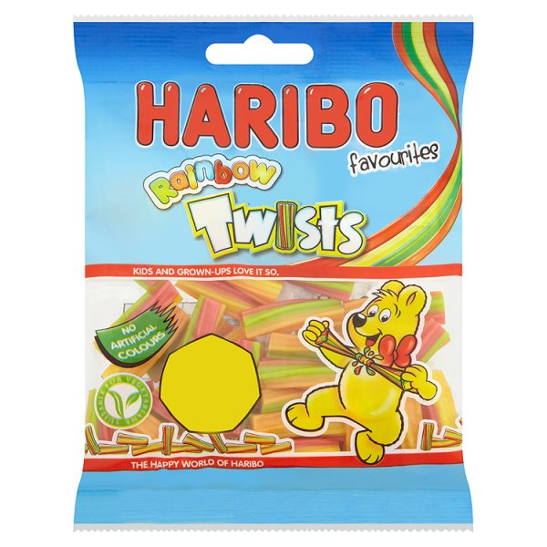 HARIBO RAINBOW TWISTS PM50P