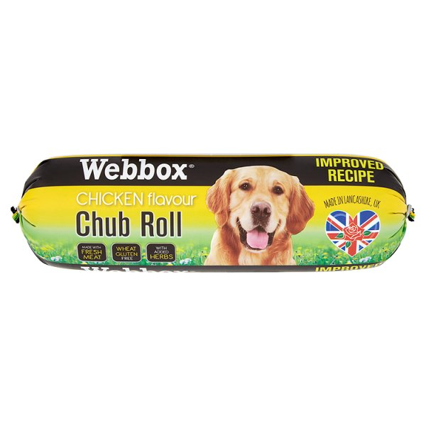 WEBBOX CHICKEN CHUB ROLL