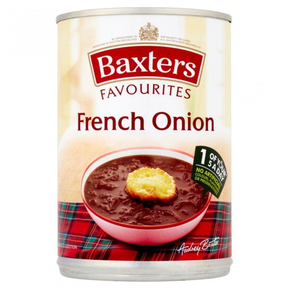 BAXTERS FAVES FRENCH ONION PMï¾£1.09