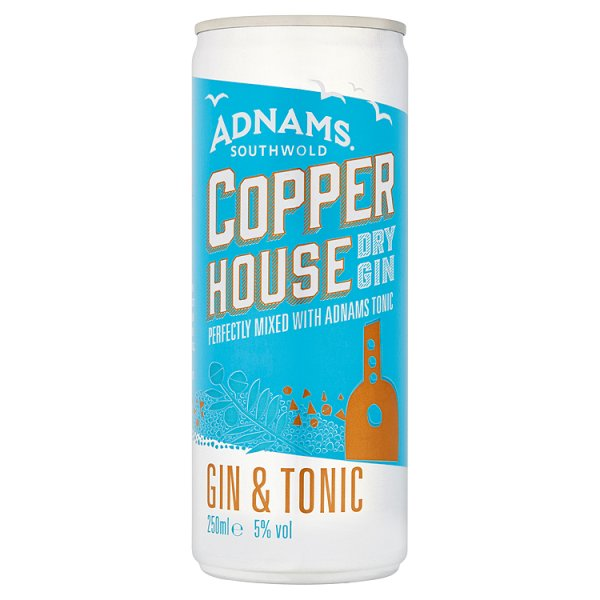 COPPER HOUSE GIN & TONIC