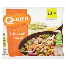 QUORN CHICKEN STYLE PIECES PMï¾£2.29