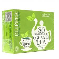 CLIPPER ORGANIC EVERYDAY TEABAGS 80'S