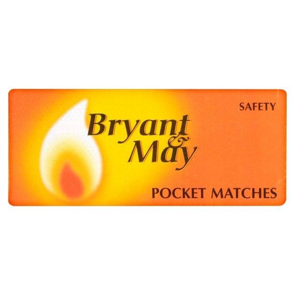 BRY&MAY SAFETY POCKET MATCH  *