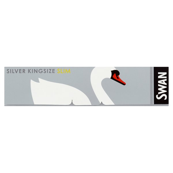 SWAN PAPERS KS SILVER SLIM *