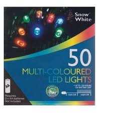 50 MULTI LED LIGHTS PS*