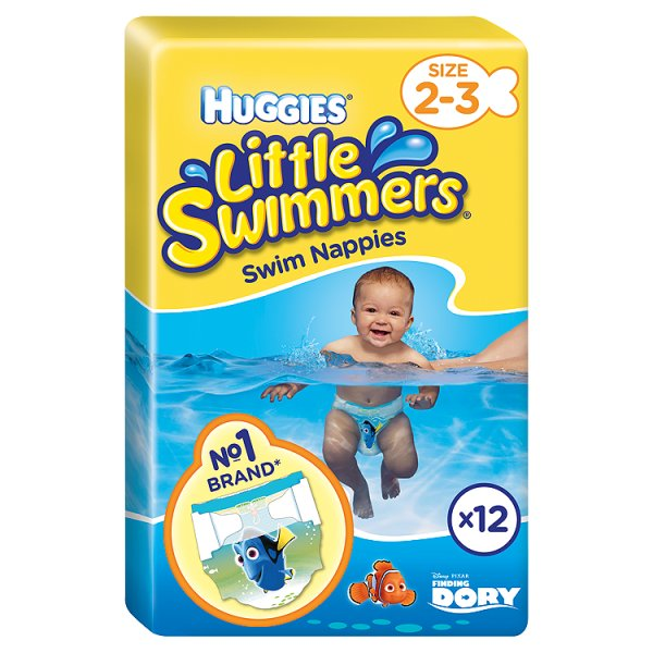 HUGGIES LITTLE SWIMMERS SIZE 2-3