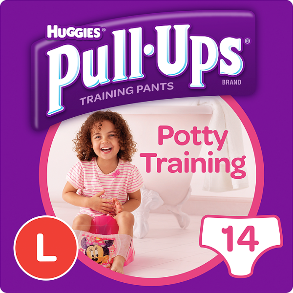 HUGGIES PULL UPS LARGE GIRL