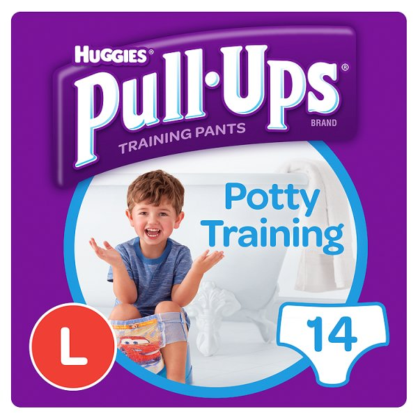 HUGGIES PULL UPS LARGE BOY