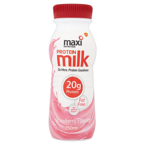 MAXINUTRITION RTD PROTEIN MILK STRAWBERRY