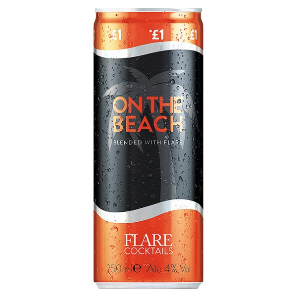 FLARE C/TAIL ON THE  BEACH PM ï¾£1.00