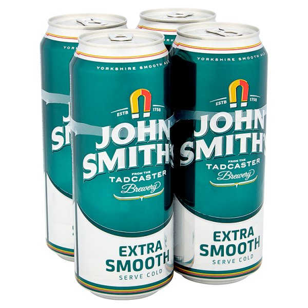 JOHN SMITHS EXTRA SMOOTH 4PK 3.6%
