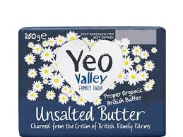 Y/VALLEY ORGANIC BUTTER UNSALTED