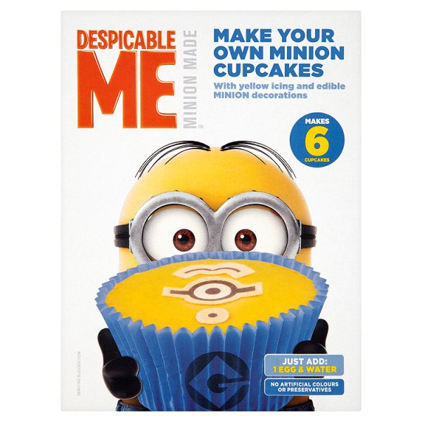 MINIONS CUP CAKE MIX
