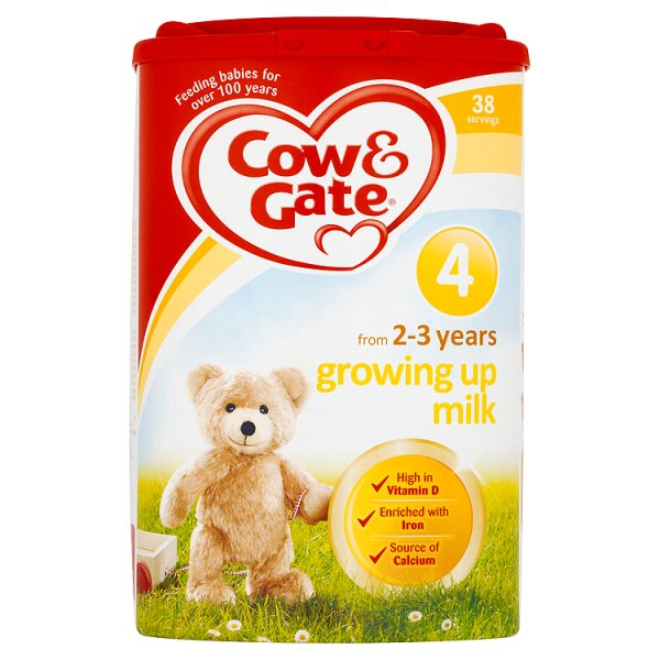 COW&GATE NO4 GROWING UP MILK 2-3YR