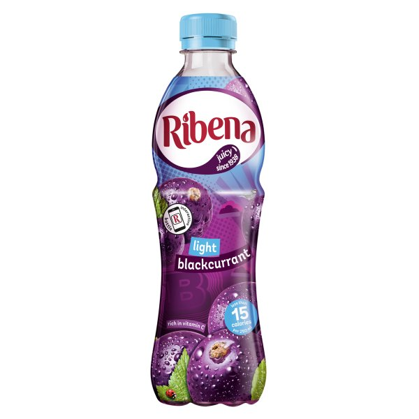 RIBENA REALLY LIGHT BLACKCURRANT
