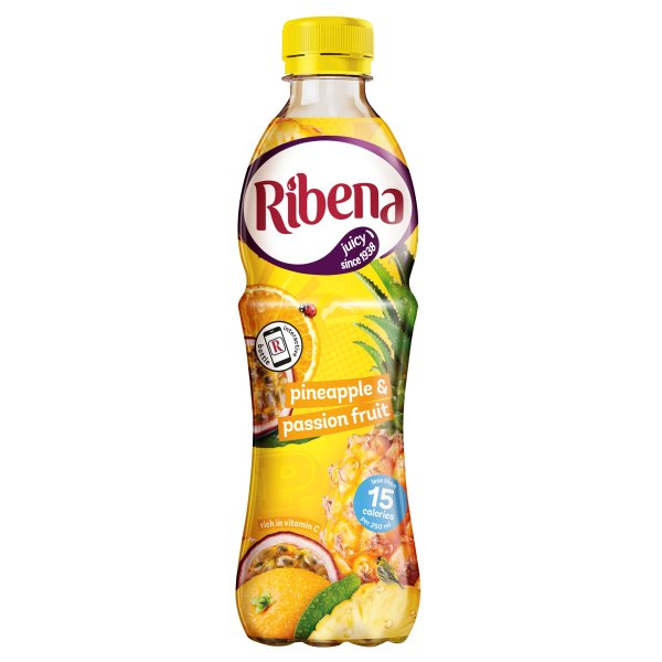 RIBENA PINEAPPLE & P/366 LIGHT