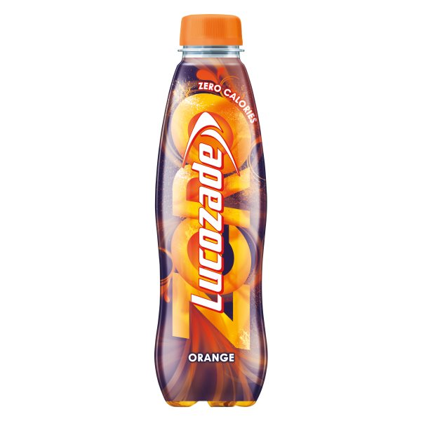 LUCOZADE ENERGY ZERO ORANGE