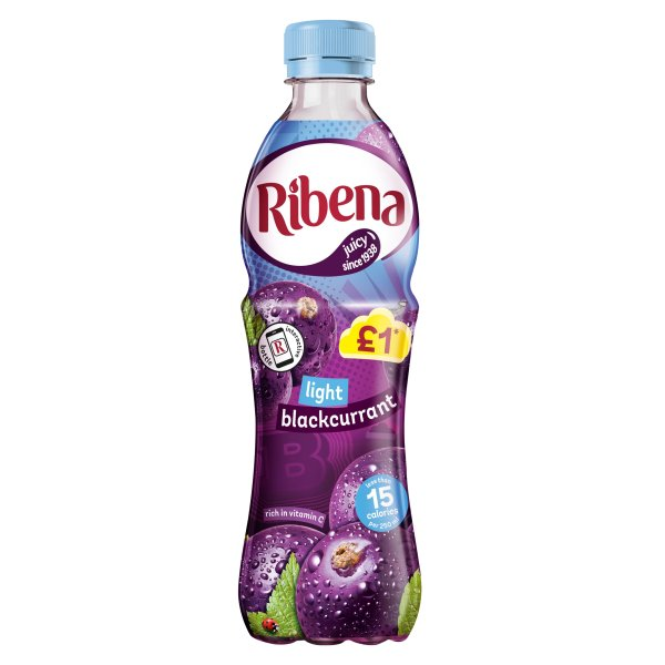 RIBENA LIGHT BLACKCURRANT PMï¾£1