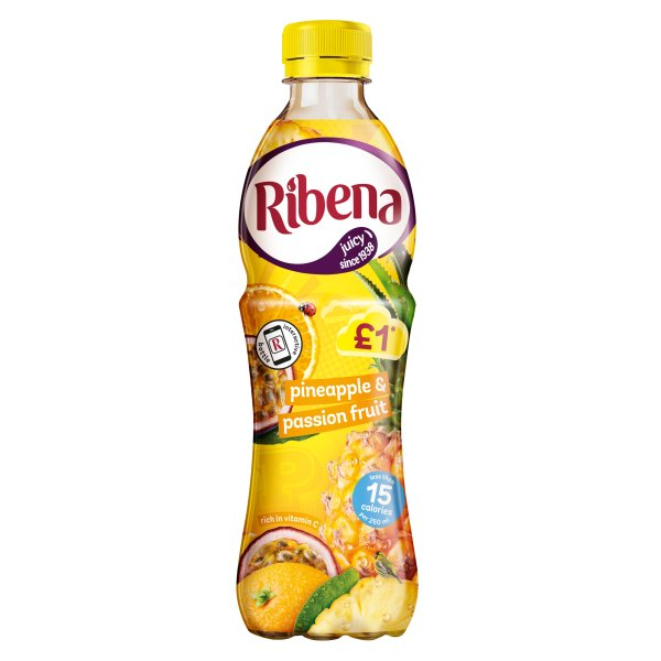 RIBENA LIGHT PINEAPPLE & PASSION 366 PMï¾£1