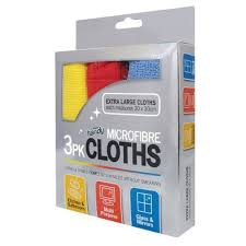 KEEP IT HANDY MICROFIBRE CLEANING CLOTHS