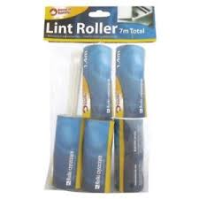 KEEP IT HANDY LINT ROLLER + 4 REFILL ROLLS