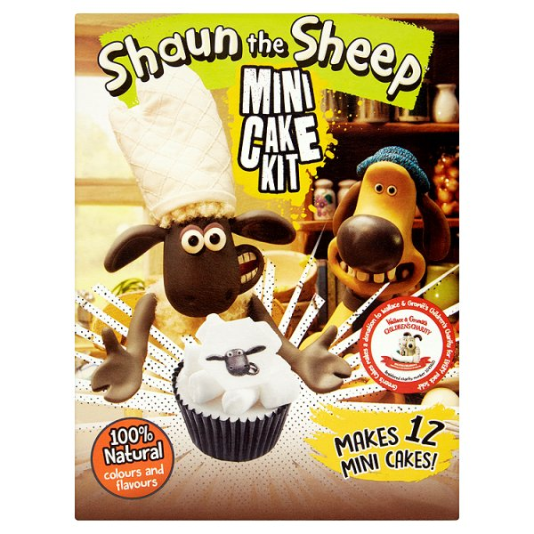 GREENS SHAUN THE SHEEP CAKE KIT