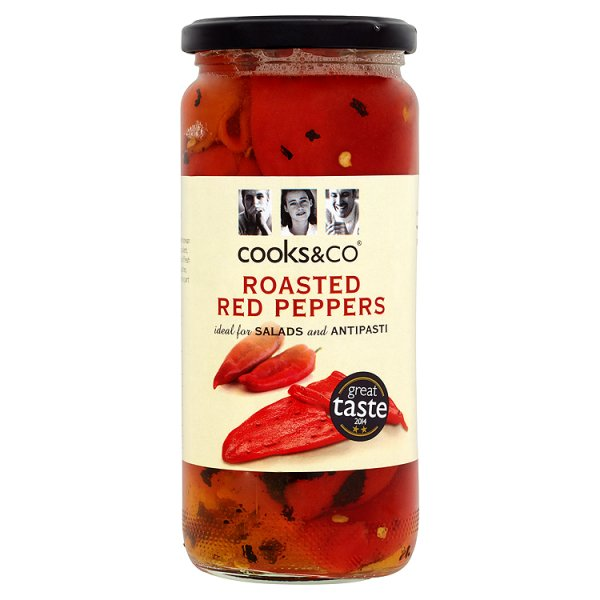 COOKS&CO ROASTED RED PEPPERS