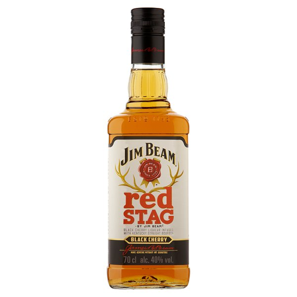 JIM BEAM RED STAG 40% DST