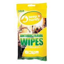 KEEP IT HANDY ANTIBACTERIAL WIPES
