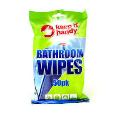 KEEP IT HANDY BATHROOM CLEANING WIPES